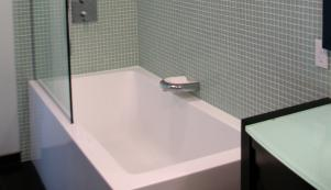 Our shower and bathtub surrounds are beautiful and long-wearing.