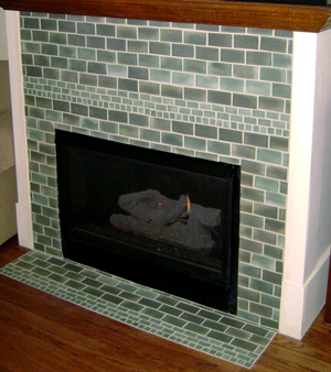 Custom Tile or Stone Fireplaces and Hearths | Blue Ridge Tile & Stone